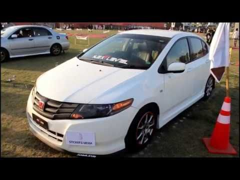 Honda City I Vtec Fully Modified Pgc Motor Show Youtube Carros Show