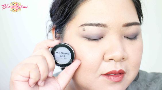 Contoh Warna Colour Box Mono Eyeshadow - Intense Blue