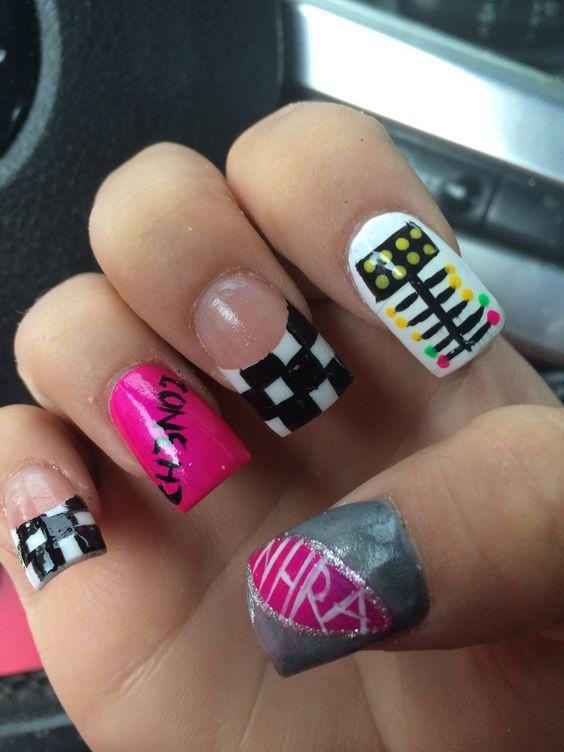 Racing Nails, Drag Racing And Racing On Pinterest