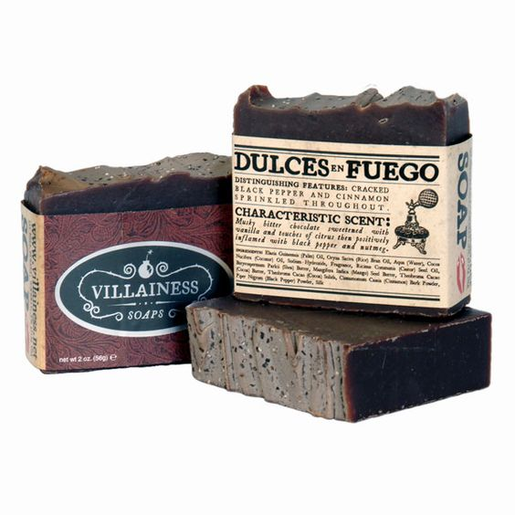 Dulces en Fuego (Musky bitter chocolate sweetened with vanilla and touches of citrus then positively inflamed with black pepper and nutmeg.)