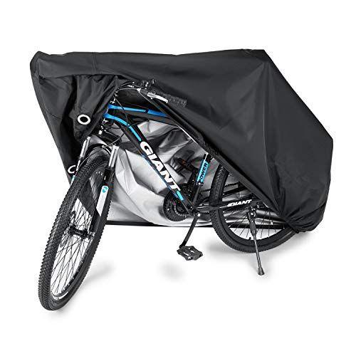 Black Bike Anti-dust Cover Waterproof Garage Bicycle Wheel Storage Bag UK