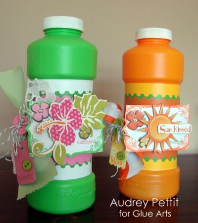 bubbles decorated / would be great party favor