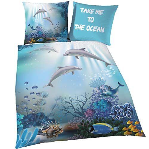 Delfin Biber Bettwasche Set Fur Madchen Jungen Kinder Https