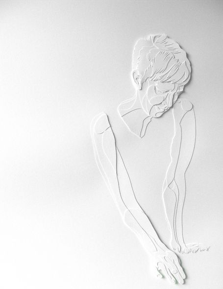 *Paper Sculpture by Joey Bates