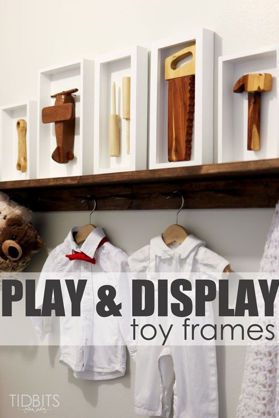 Play & Display – Toys in a Frame:
