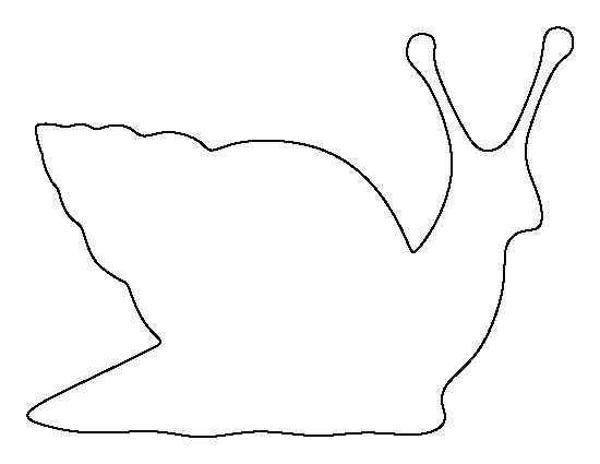 Snail Pattern Use The Printable Outline For Crafts