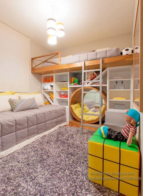 Dormitorios fotos de dormitorios im genes de habitaciones - Imagenes de habitaciones para ninos ...
