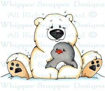 A Hug for Ike - Bears - Animals - Rubber Stamps - Shop