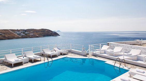 Pietra Mare Beach Hotel Mykonos Yunanistan Şimdi Orada