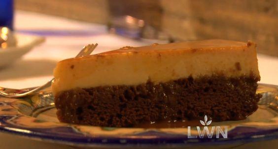 Chocolate Cake Flan Rick Bayless