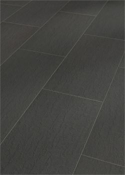 Kransen-Floor : Die Adresse für Vinylboden, Vinyl Laminat, Vinylböden, pvc Boden, Laminat, Parkett, Fußbodenbelag, Bodenbelag und Bodenbeläge aller Art-MEISTER Nadura Design-Boden NB 400 - Schiefer anthrazit 6220 - wohngesunder Boden aus 100 % Natur, strapazierfähiger als Fliesen und gleichzeitig fußwarm wie Parkett