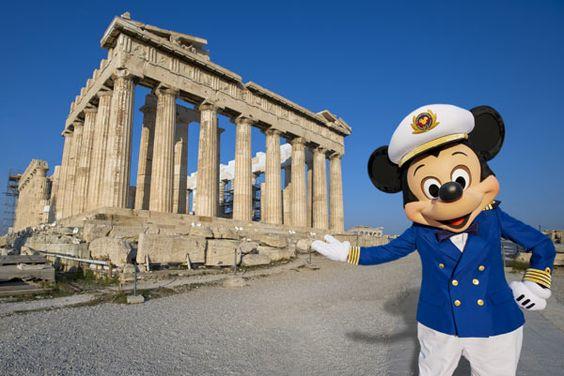 European Disney Cruise, Disney Cruises to Europe and the Mediterranean