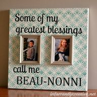 My mother in laws frame would need to accomodate 39 pictures....but this is still a great Mothers day gift idea!