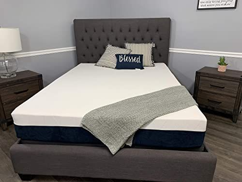 New Made The Usa 10 Graphite Infused Memory Foam Mattress Sleeps Cooler Custom King Online Shopping Ppwonderfulrange In 2020 Sleep Mattress Memory Foam Mattress Mattress Sets