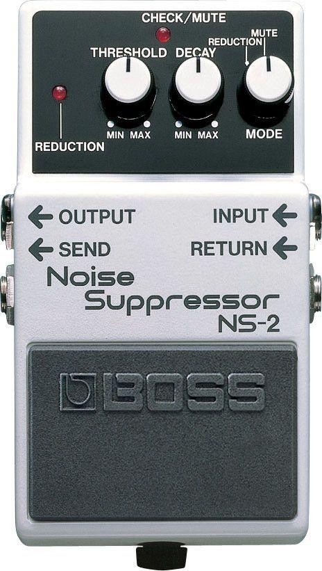Boss NS-2 Noise Suppressor Guitar Effect Pedal