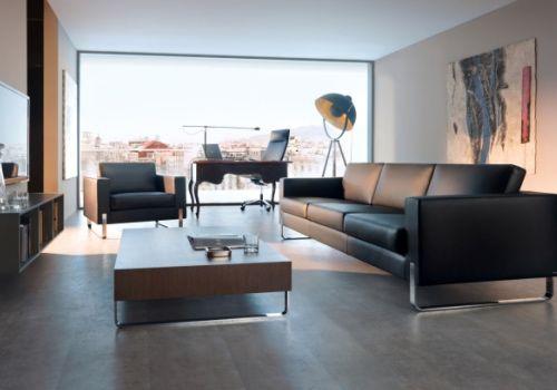 Lounge My Turn SOFA - Profim, Minimalisums großen Dimensionen