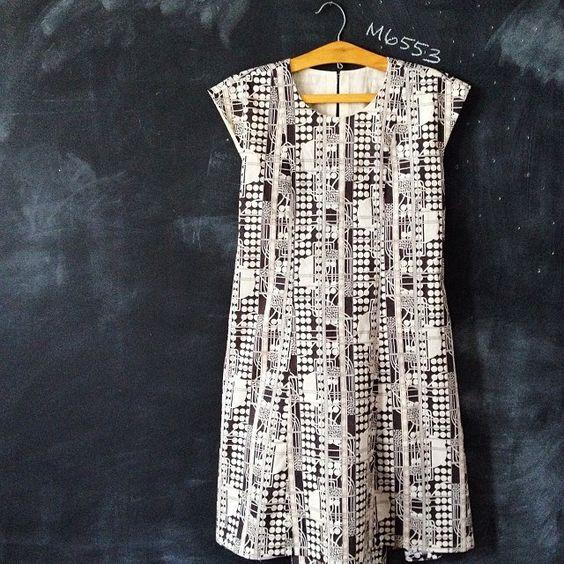 M6553 dress in Liberty Gilliam! #januaryfinish | Flickr - Photo Sharing!