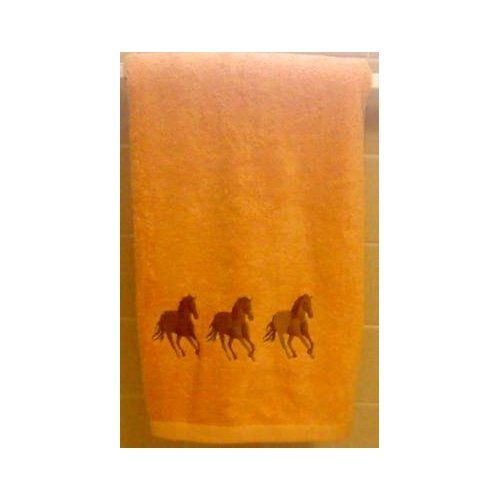 Northpoint Home Collection Horses Embroidered Luxury Bath Towel (Color