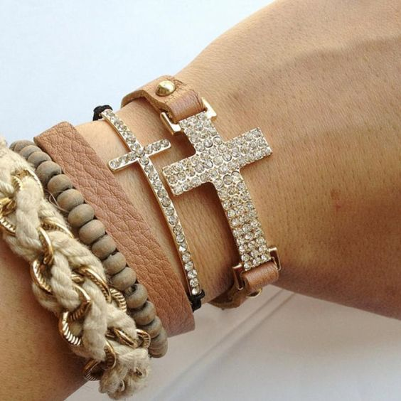 Crystal Cross Wrap