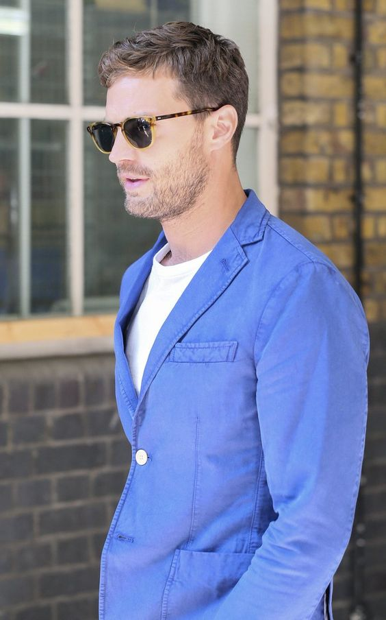 Jamie Dornan leaving ITV Studios 30th Aug 2016