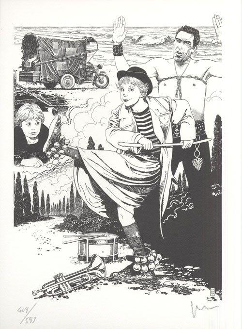 Fumetti EDIZIONI DI, Collana PORTFOLIO MANARA FELLINI