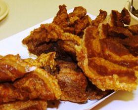 in my Kitchen: How to make Pork rinds-skins/Como hacer Chicharrones ...