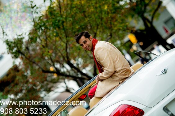 Groom Portrait at Westin, Jersey City. Punjabi Wedding in New Jersey. Best Indian Wedding Photographers PhotosMadeEz - , Award Winning Photographer Mou Mukherjee featured in Maharani Weddings.