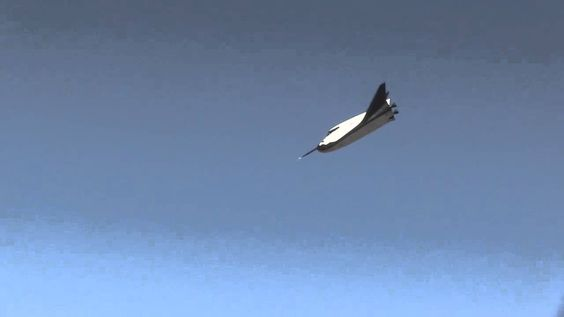 The first free flight of the SNC Dream Chaser. Flight looks super smooth, great milestone for the super sexy dark horse of the race to win those NASA commercial crew contracts.
