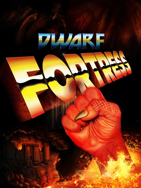 Dwarf Fortress, hommage to the video-game.