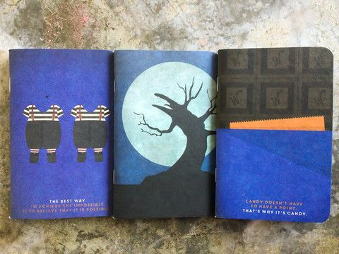 Les Trois Calepins Tim Burton