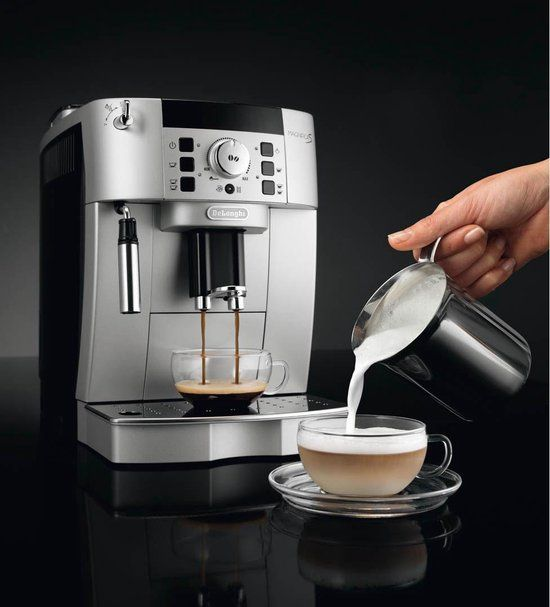 De Longhi Magnifica S Koffiebonen Espressomachine Gemalen Koffie