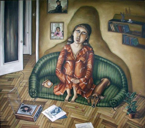 Путешествие в СССР: картины художницы Анжелы Джерих • НОВОСТИ В ФОТОГРАФИЯХ: