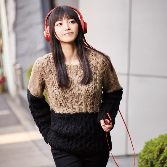 miwaのヘッドホン