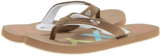 Roxy Low Tide (Khaki) Women's Sandals on shopstyle.com