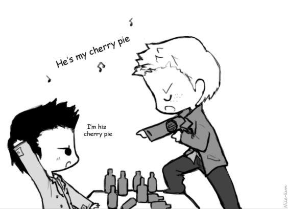 HES MY CHERRY PIE!!! Cherry pie by *Nile-kun on deviantART