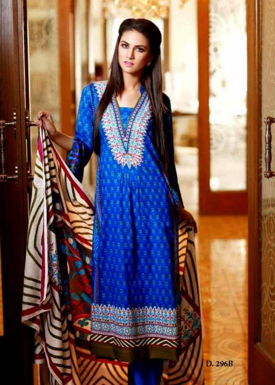 Lawn Dresses 2014 for Eid | Lawn Designs 2014 Outfits for Eid by Sitara Sapna