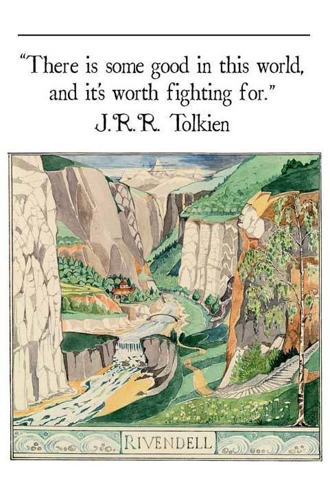 Tolkien always touches my soul