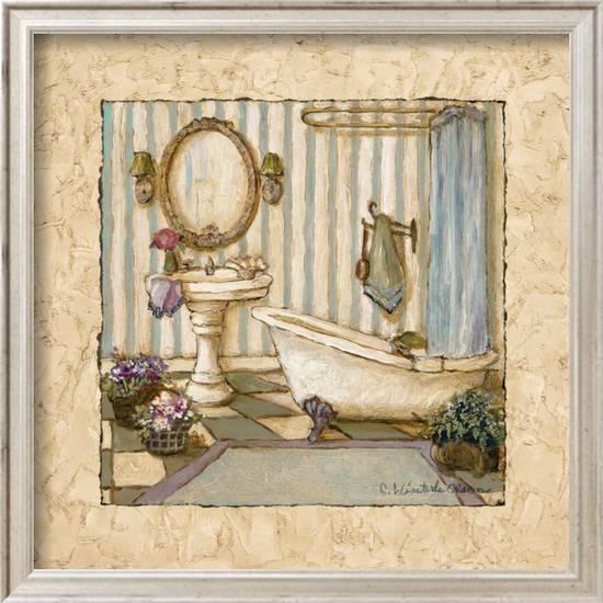 Her Sanctuary Ii Prints Charlene Winter Olson Allposters Com In 2020 Art Prints Vintage Bathroom Pictures Art