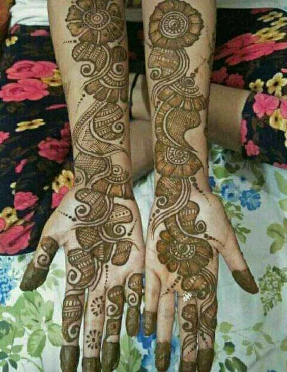 arabian new mehndi design full hand