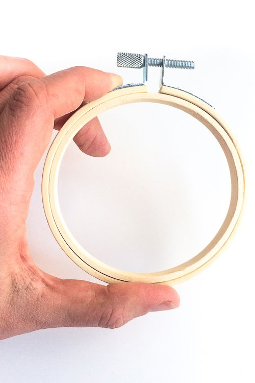 Cross Stitch Hoop Wooden embroidery 7 inch Wooden Small embroidery hoop Embroidery Hoop Embroidery frame hoop