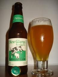 """I do not drink much beer, but, when I do, it is """"Spotted Cow"""" by New Glarus Brewery in Wisconsin."""