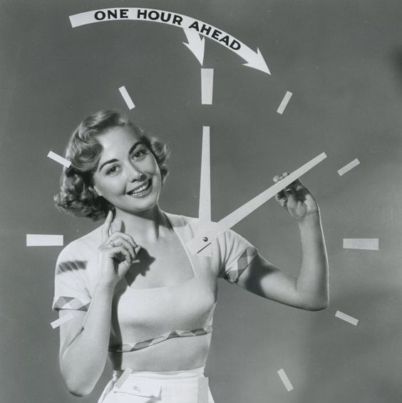 vintage daylight savings time