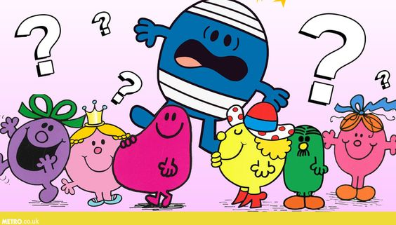 Quiz – Can you name all these Mr Men and Little Miss characters?