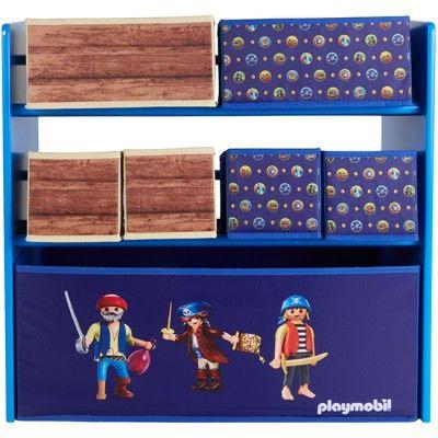 Meuble de rangement enfant playmobil pirate rangement - Rangement pour playmobil ...