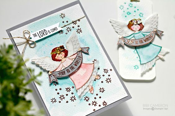 The wonder of Christmas Stampin Up