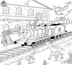 Art Train Station Scenery Childrens Color Sheets Printable Pages For Coloring James The Red Engine Colouring Pages Train Coloring Pages Coloring Pages Detailed Coloring Pages