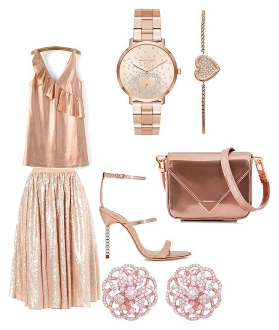 """Ready"" by bluediamond40 on Polyvore featuring WithChic, Sophia Webster, Michael Kors and Alexander Wang"