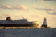 Big Ship, More Fun! SS Badger Ludington, MI - Manitowoc, WI  Lake Michigan