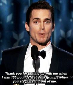 Matt Bomer gave a loving acceptance speech.   The 22 Most Important Things That Happened At The Golden Globes