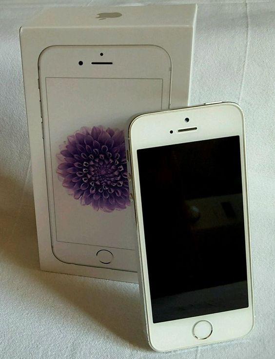 Apple  iPhone 5s - 32GB - Silber (Ohne Simlock) Smartphone Tenchisch Top mit OVP